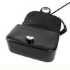 Christian Dior Classic Box Black Leather Shoulder Bag