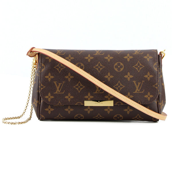 Louis Vuitton Monogram MM Favorite Clutch & Crossbody