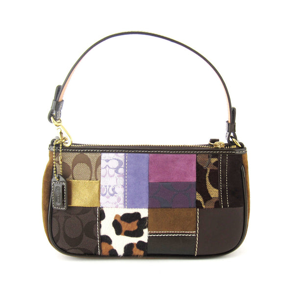 Coach Patchwork Pochette Shoulder Bag