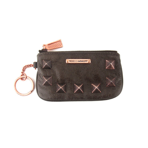 Rebecca Minkoff Studded Coin/Key Purse