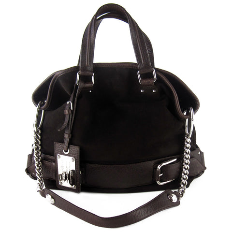 Dolce & Gabbana Miss Loop Suede & Leather Tote