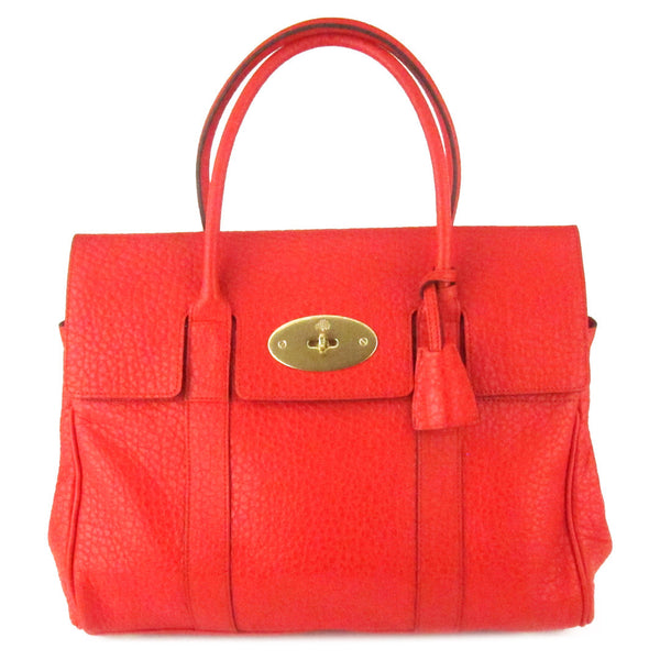 Mulberry Bayswater Pebbled Leather Tote
