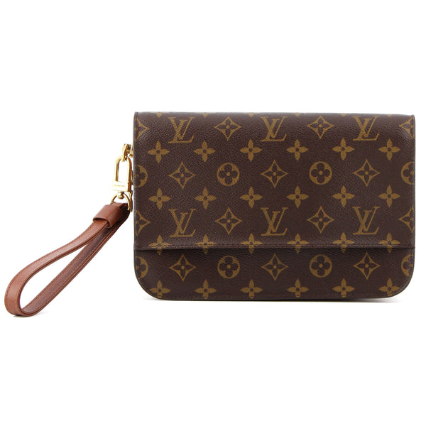 Louis Vuitton Monogram Orsay Zip Chutch Wristlet