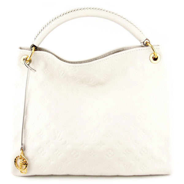 Louis Vuitton Monogram Empreinte Artsy MM - Neige