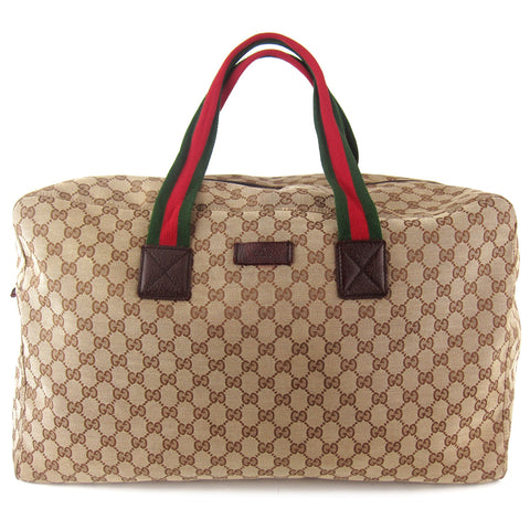 Gucci Classic GG Canvas Soft Duffle