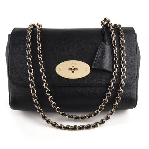 Mulberry Lily Medium Chain Shoulder Crossbody Bag