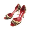 Manolo Blahnik Pony Hair Leopard Pumps sz 38