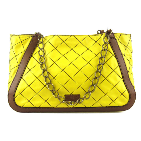 Moschino Quilted Chain Shoulder Bag