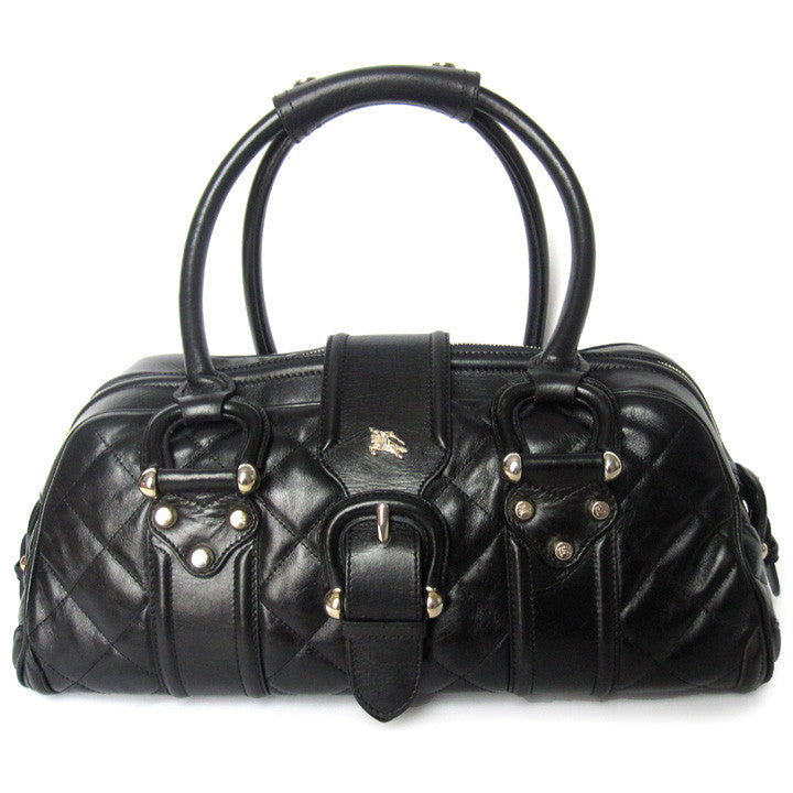 50b896db6511 LUXUCA.COM - Burberry Manor Quilted Leather Bag
