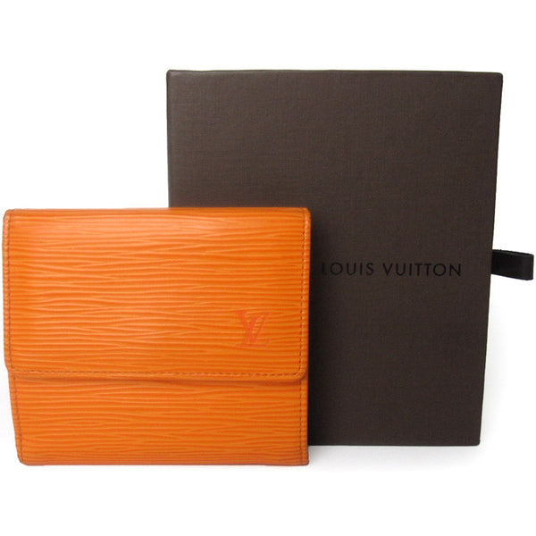Louis Vuitton Epi Mandarin Elise Wallet
