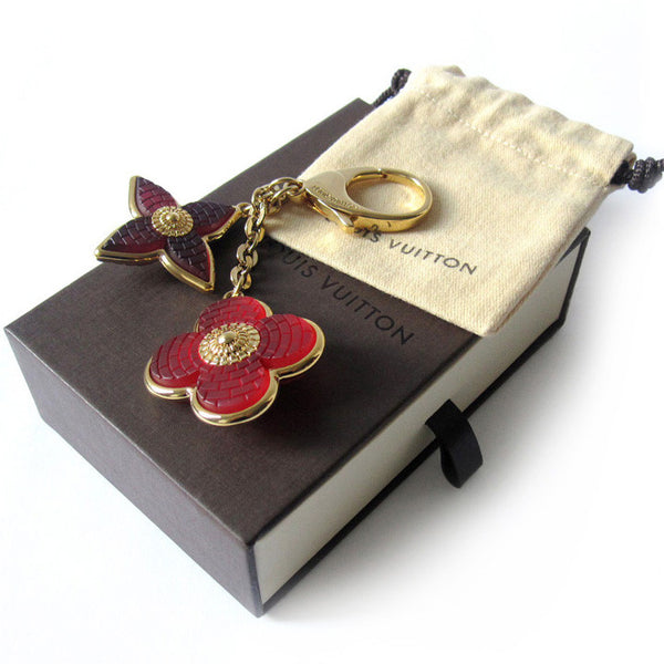 Louis Vuitton Mosaic Flower Bag Charm