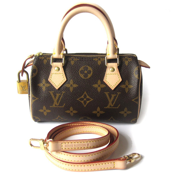 Louis Vuitton Mini Speedy & Strap - NEW
