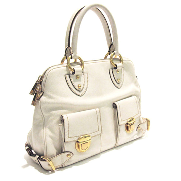 Marc Jacobs Over-Sized White Satchel