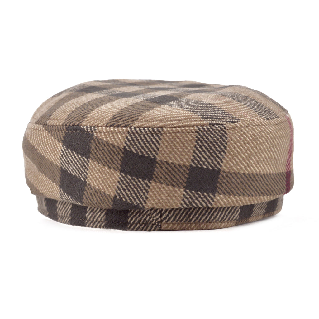 f8dbef7205cc8 LUXUCA.COM - Burberry Classic Check Cashmere Wool Captain s Hat