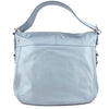 Coach Powder Blue Leather Two-Way Tote & Shoulder Bag