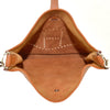 Hermes Evelyne I GM Gold Brown Togo Leather Crossbody