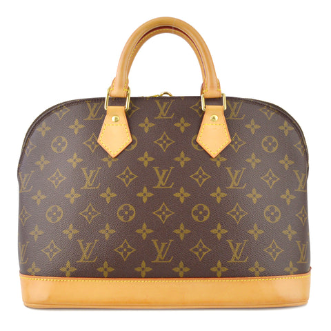 Louis Vuitton Monogram Alma PM Satchel