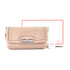 Coach Woven Nude Leather Shoulder Bag & Clutch