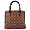 Louis Vuitton Damier Ebene Brera Satchel