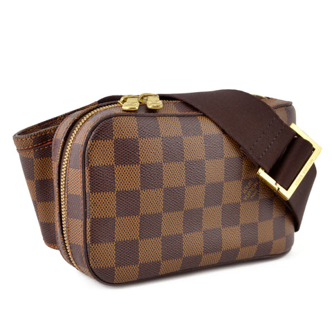 Louis Vuitton Damier Ebene Geronimos Crossbody Belt Bag