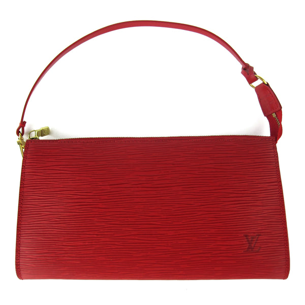 Louis Vuitton Red Epi Pochette