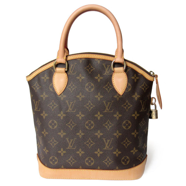 Louis Vuitton Monogram Lockit Satchel