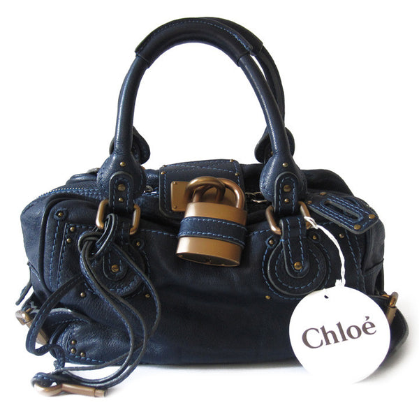 Chloe Paddington Boxy Satchel - NEW