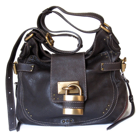 Chloe Paddington Round Hobo - NEW
