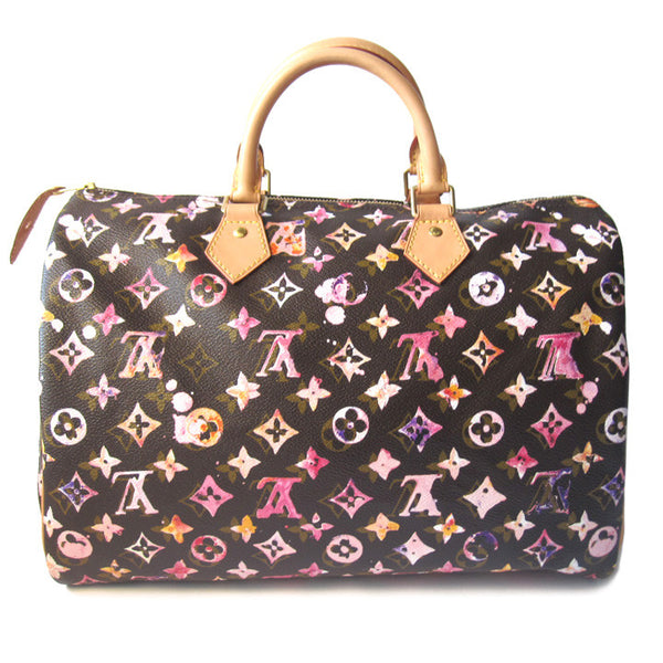 Louis Vuitton Watercolor Speedy 35