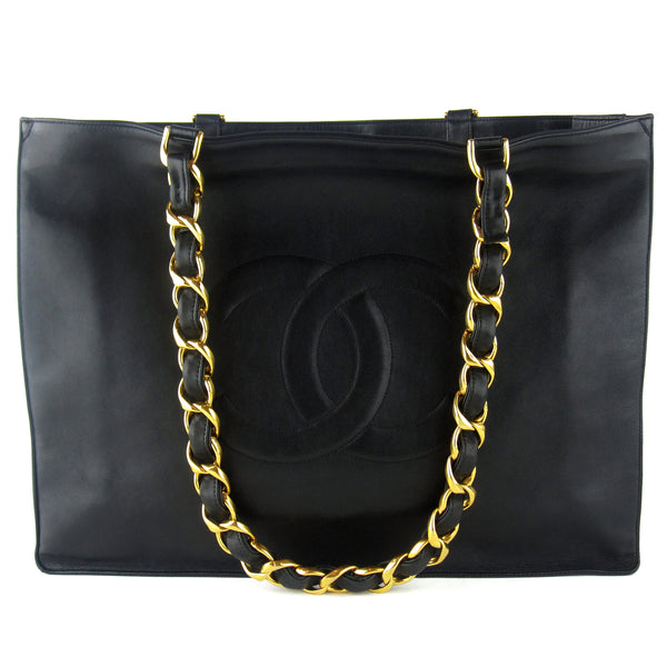 Chanel XL Double Chain Tote