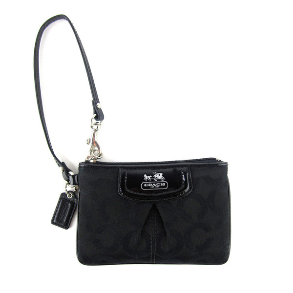 Coach Small Patent Wristlet Clutch
