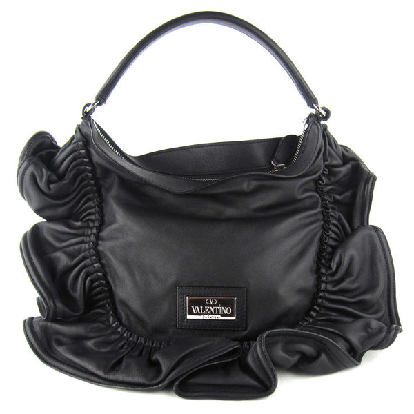Valentino Large Soft Ruffle Tote