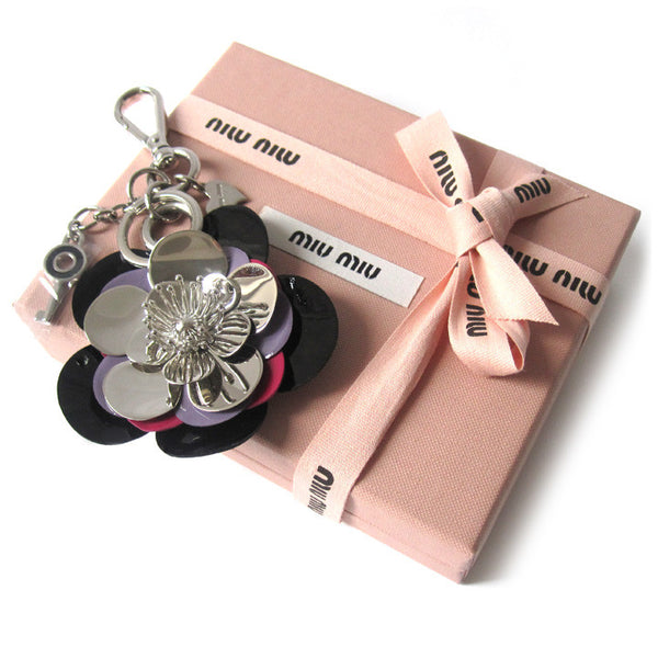 Miu Miu Flower Key Charm - NEW