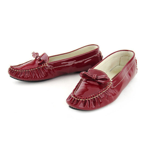 Marc Jacobs Patent Cherry Loafers 9