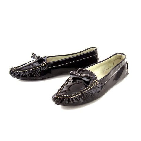 Marc Jacobs Patent Black Loafers sz 9