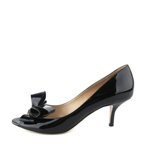 Valentino Bow Patent Pumps 39
