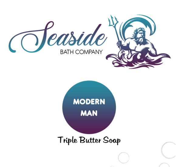 Modern Man (Sandalwood Triple Butter Soap)