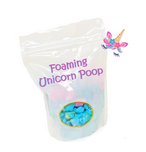 Unicorn Poop Foaming Bath Powder - Seaside Bath Co.,LLC.