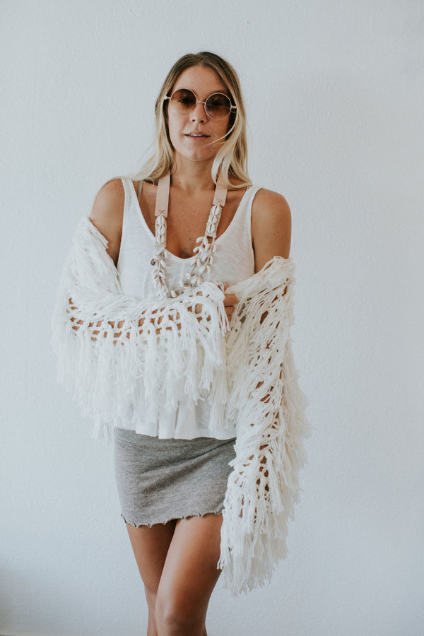 Cloud Nine Crochet Sweater