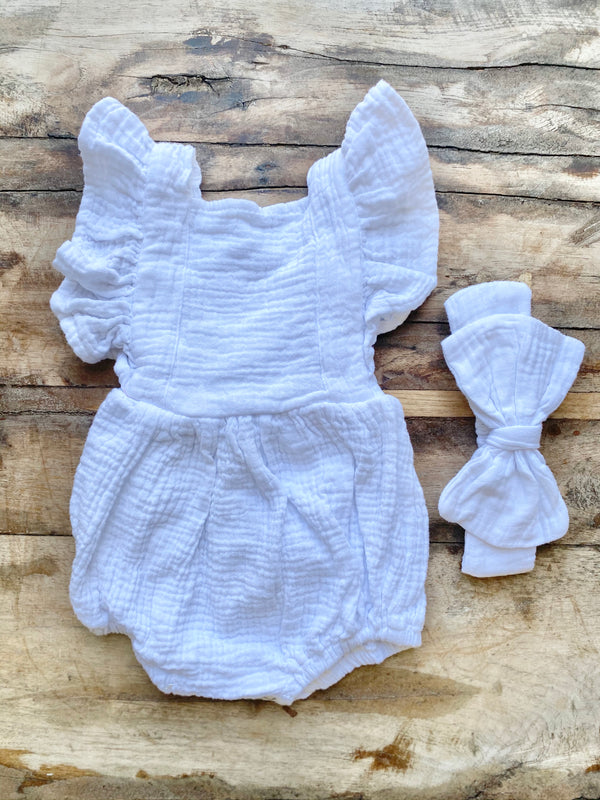 Lullaby Baby Romper Set