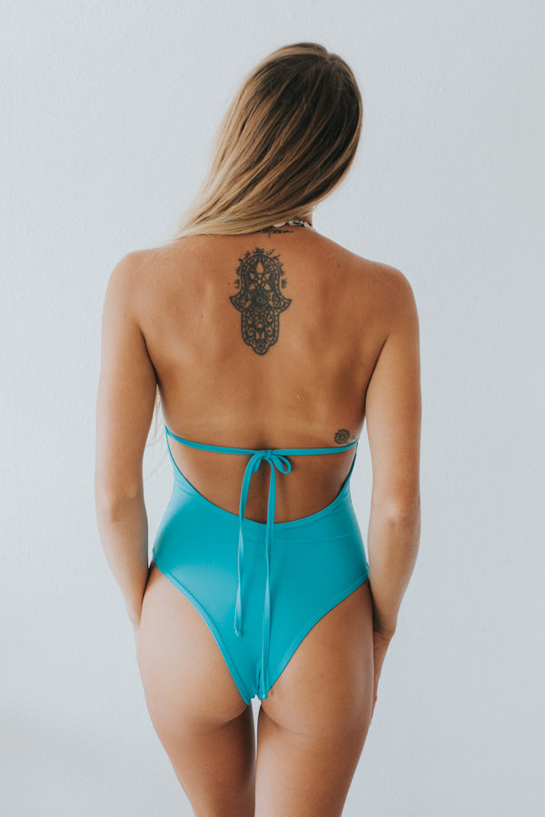 Sweetie One Piece In Bahama Blue