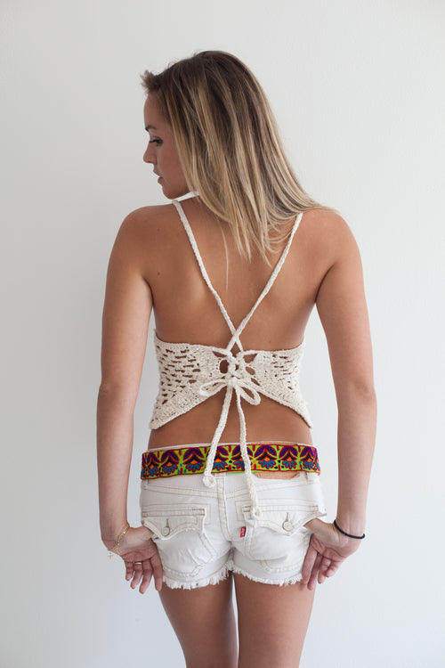 Woodstock Crochet Top