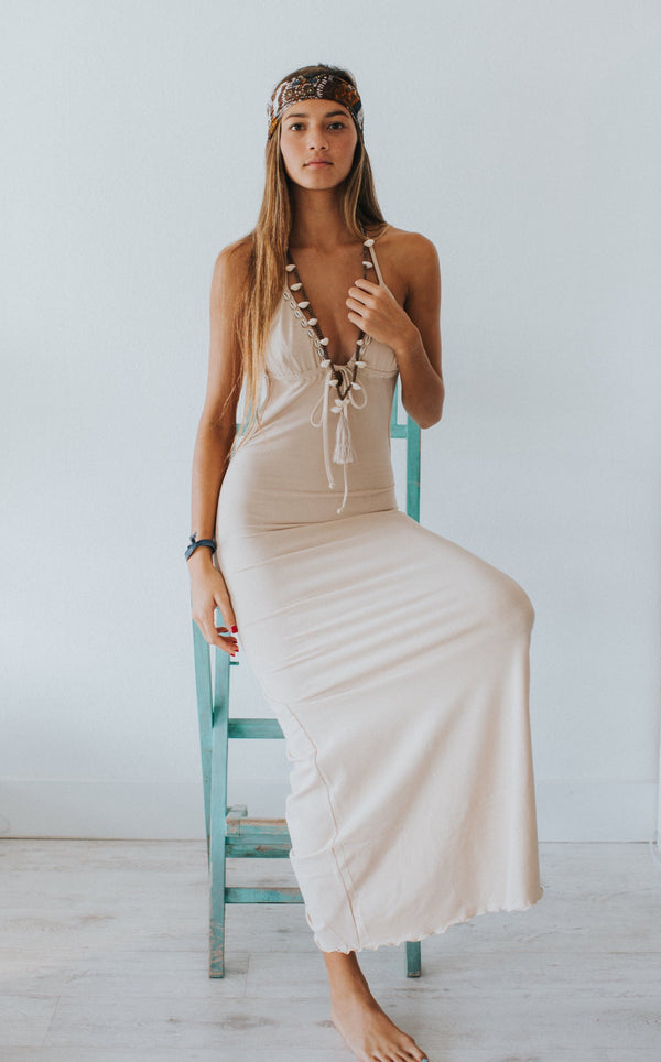 Nomad Low Back Maxi Dress