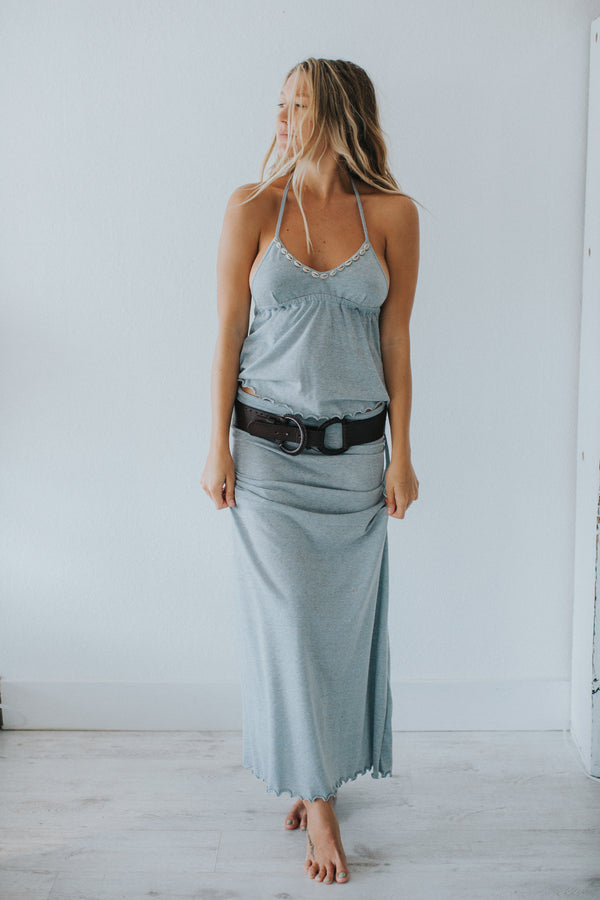 Blue Skies Maxi Skirt