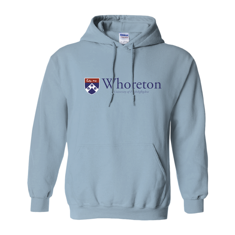 The Whoreton School at the University of... Blue Gildan Sweatshirt