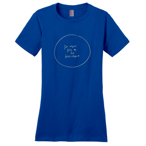 Ungodly! Things: Sun Never Sets on the B*tch's Empire Le Empire Royal Blue Women's T-shirt