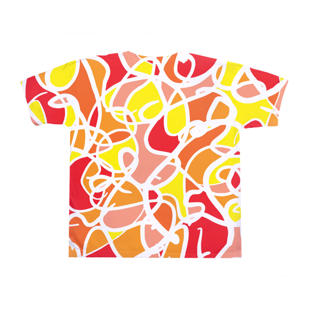 Clowning Colorful Abstract T-shirt - Ungodly! Things