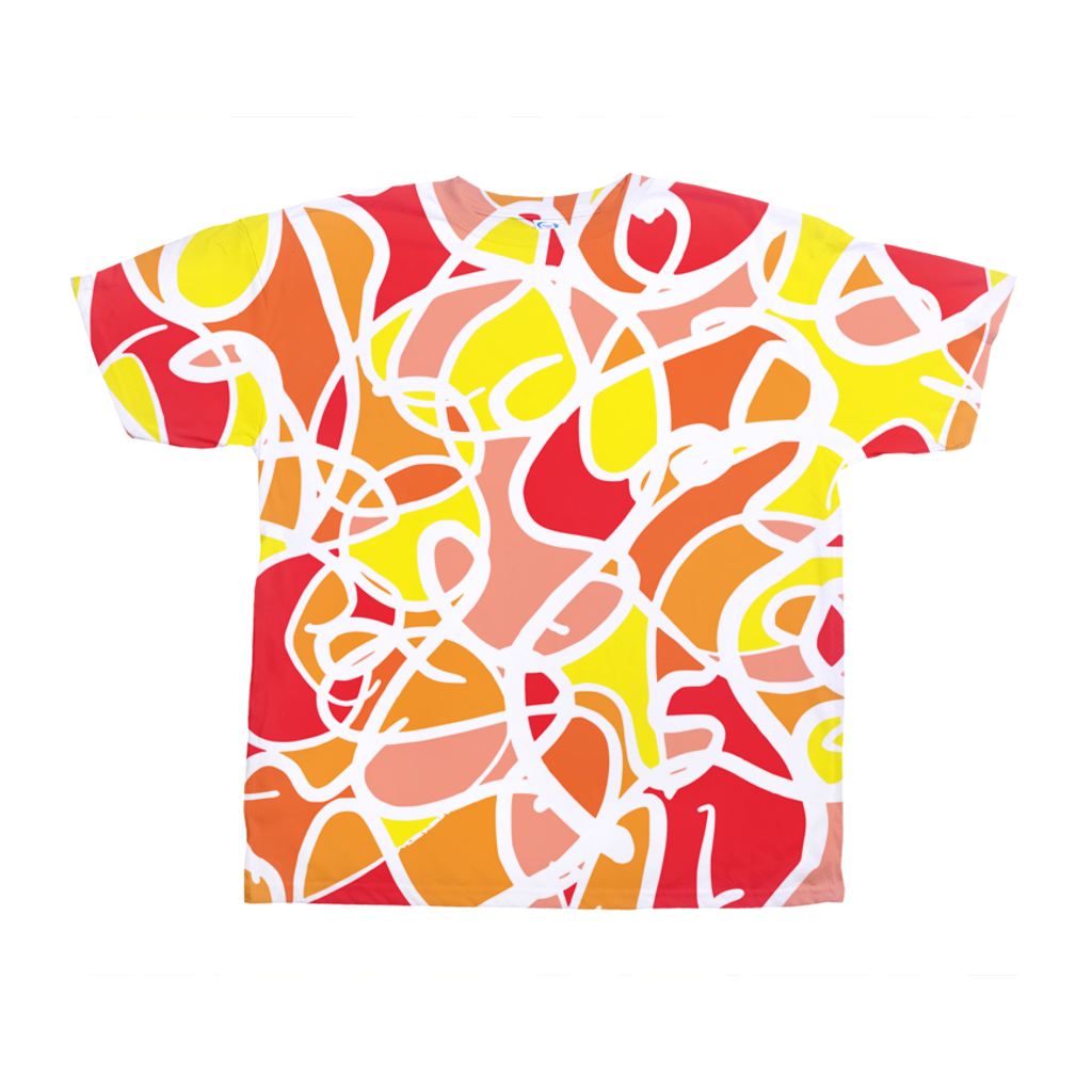 Ungodly! Things: Clowning Colorful Abstract T-shirt