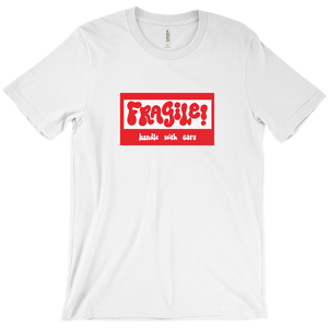 Ungodly! Things: Fragile! Handle With Care White T-Shirt