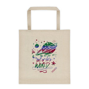 Ungodly! Things: Out of This World Vintage Tote Bag Reusable Bag